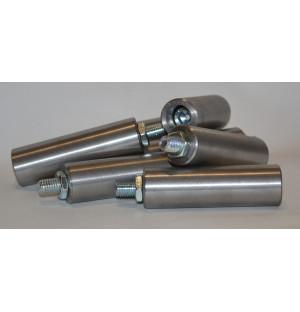 Ручка вращающаяся цилиндрическая стальная 100х30 М12