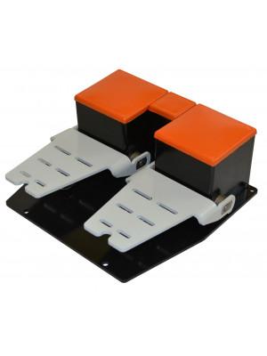 Педальный выключатель двойной открытй ВПО-2