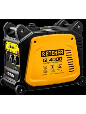 STEHER 3/3,5 кВт, однофазный, синхронный, инверторный, генератор бензиновый GI-4000