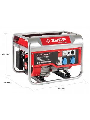 Генератор бензиновый ЗЭСБ-2200