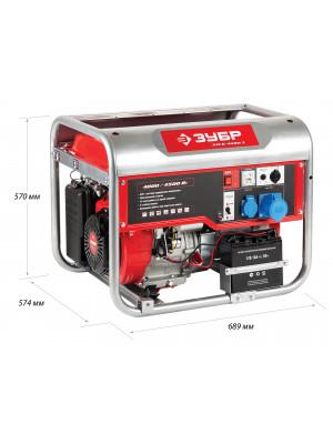 Генератор бензиновый ЗЭСБ-4500-Э
