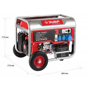 Генератор бензиновый ЗЭСБ-6200-ЭН