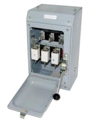 Ящик силовой с рубильником ЯБПВ-1 100А У3 IP21 с ПН2