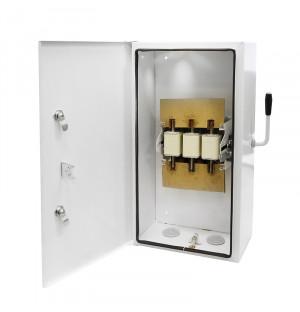 Ящик силовой с рубильником ЯБПВУ 400А IP54 с ППН-37 медные контакт основания