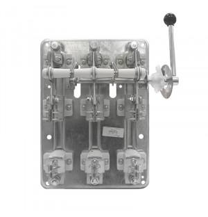 Рубильник РПБ 2/П без ПН2, 250А правая рукоятка