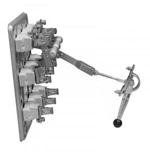 Рубильник РПС 2/1П 250А без ПН2 правая рукоятка