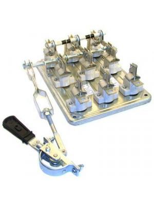 Рубильник со смещен.приводом РПС 1/1Л 100А (без ПН) рукоятка слева керамические изоляторы