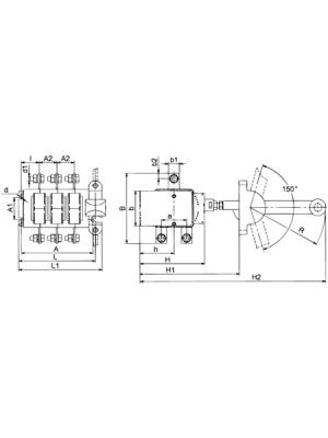 Выключатель-разъединитель ВР32-31-А-71240-00УХЛ3