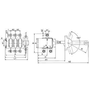 Выключатель-разъединитель ВР32-35-А-71240-00 УХЛ3