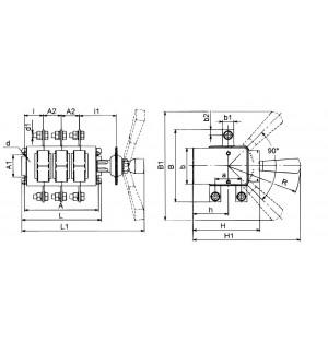 Выключатель-разъединитель ВР32-39-В-71250-32 УХЛ3