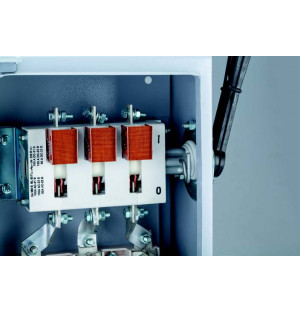 Ящик с рубильником ЯРП 630А IP32 без ПН-2 (ЯРП11М391)