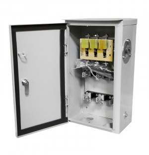 Ящик с рубильником ЯРВ 100А IP54 без ПН2 (ЯРВ-100-54)