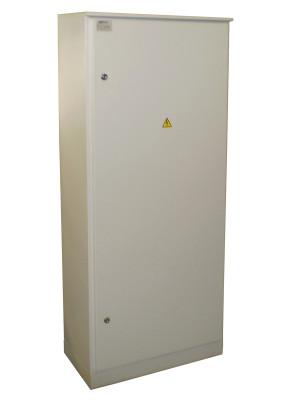 Инвентарное вводно-распределительное устройство ИВРУ-2-400 IP54 корпус 1600(1700)х700(600)х300 мм (ручка рубильника внутри корпуса)