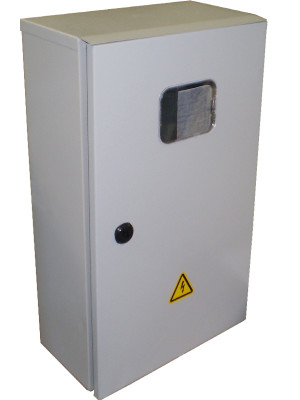 Шкаф учета ШУ- 1/Т IP54 (без э/счетчика; с КИ) корпус ЩУ-1 з.о. 600х400х220