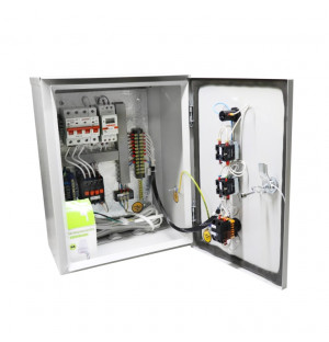 Ящик управления освещением ЯУО 9601-3274 IP54 (16А, ФР+РВМ) У2
