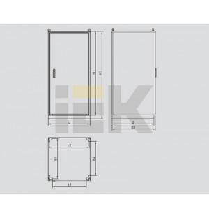 Элемент корпуса металлического КСРМ 18.8.х-2 36 УХЛ3 IP31 Место 3