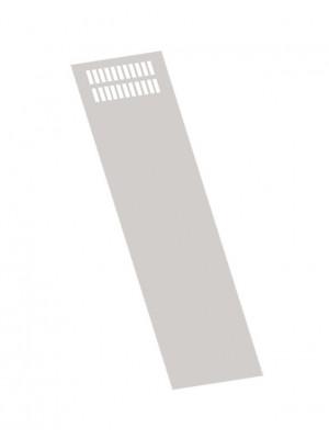 Стенка боковая к ВРУ h=2000мм RAL9001 (2000х450мм)