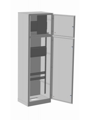 Корпус ВРУ-2 1800х800х450 IP54 RAL 7035 цельнометаллический