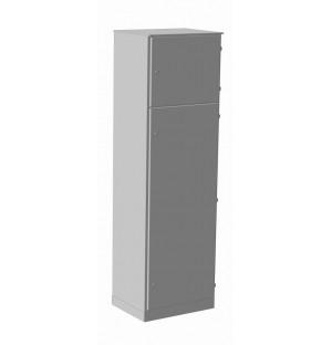 Корпус ВРУ-2 1800х800х450 IP54 с боковыми панелями RAL 7035 серый