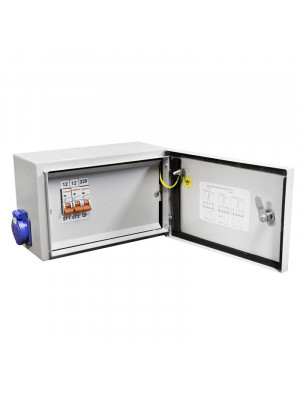 Ящик с понижающим трансформатором ЯТП-0,25 220/12 3авт. IP54
