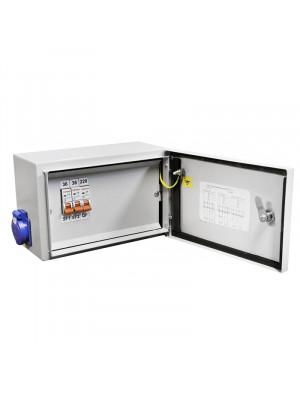 Ящик с понижающим трансформатором ЯТП-0,25 220/36 3авт. IP54