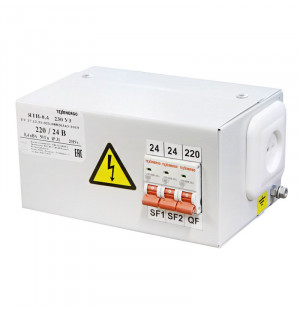 Ящик с понижающим трансформатором ЯТП-0,4 220/24 3авт.